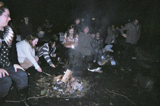static zine bonfire