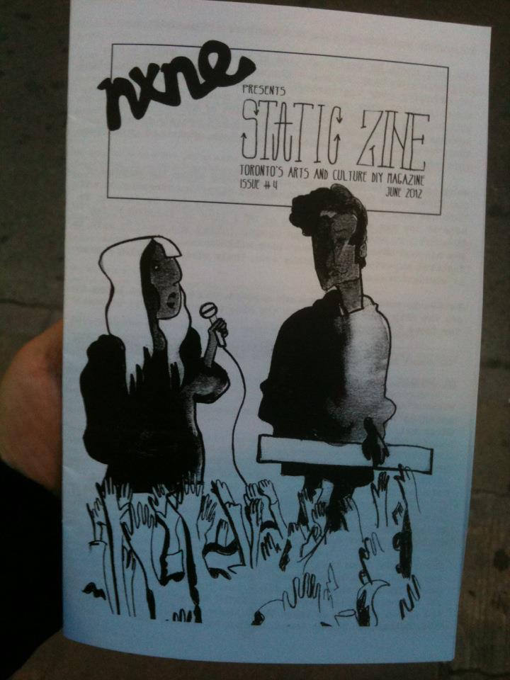 issue 4 static zine