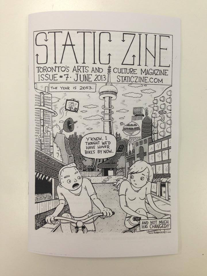 static zine issue 7