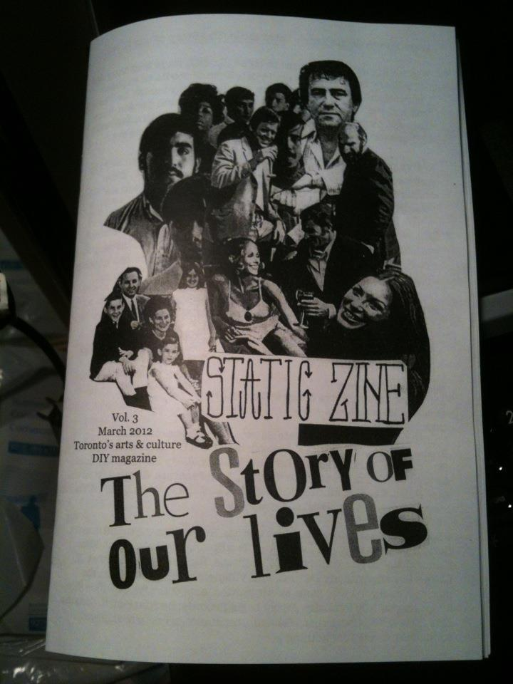 static zine issue 3