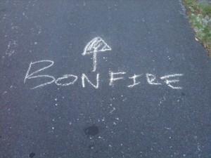 bonfire island nxne static zine
