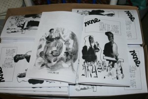 static zine issue 4 nxne