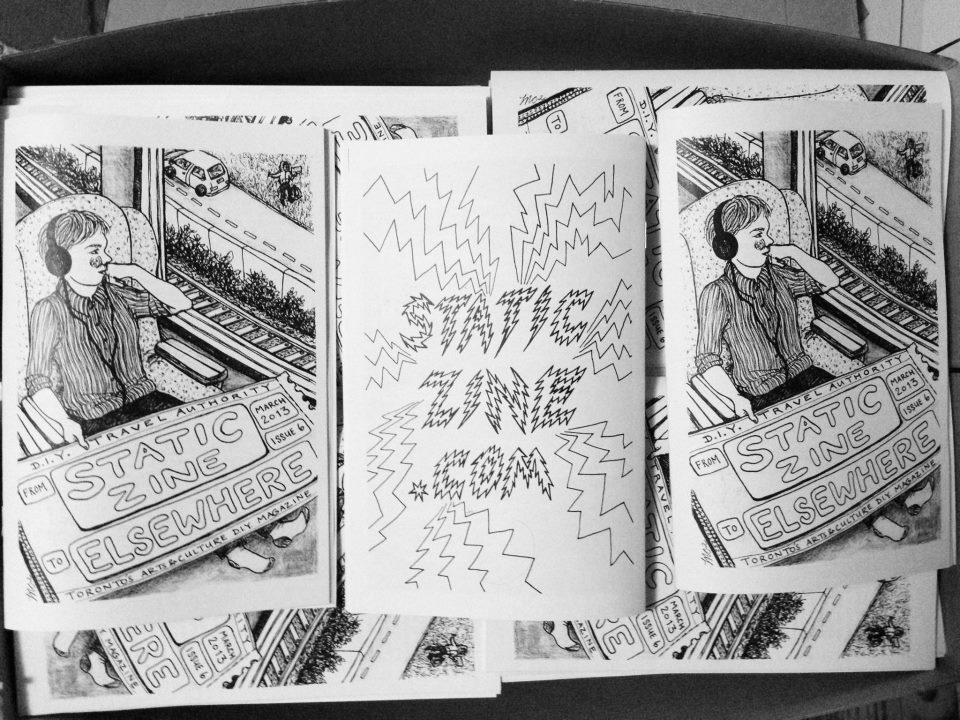static zine elsewheres