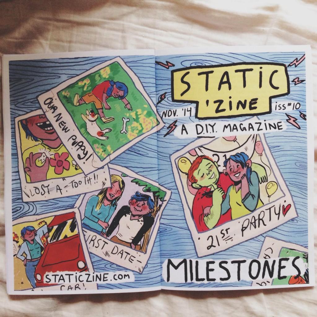 static zine 10