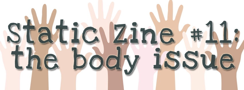 static zine body issue