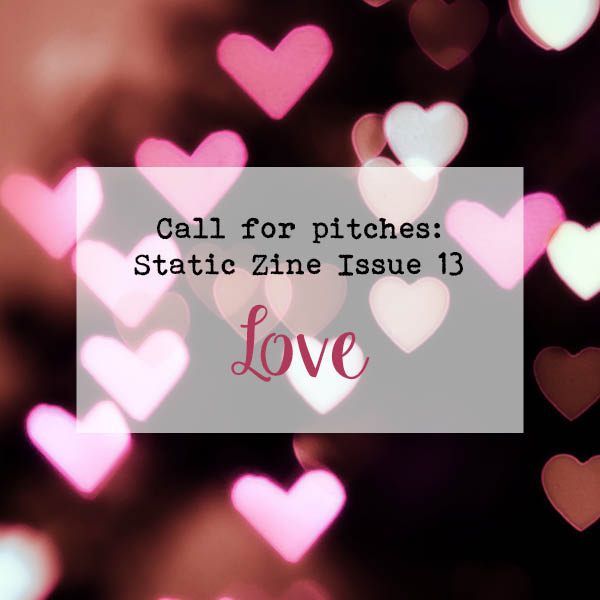 static zine love issue