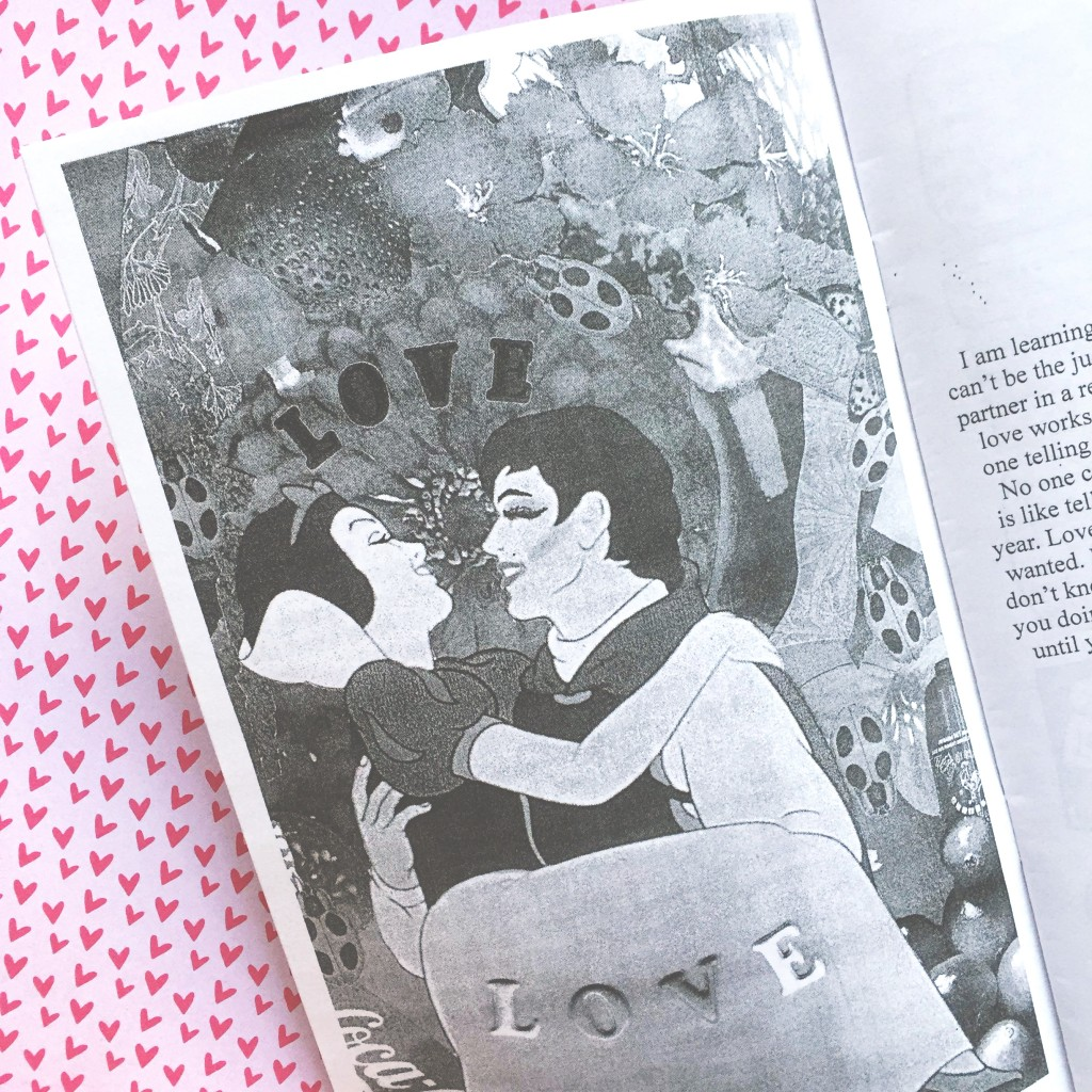 static zine love issue