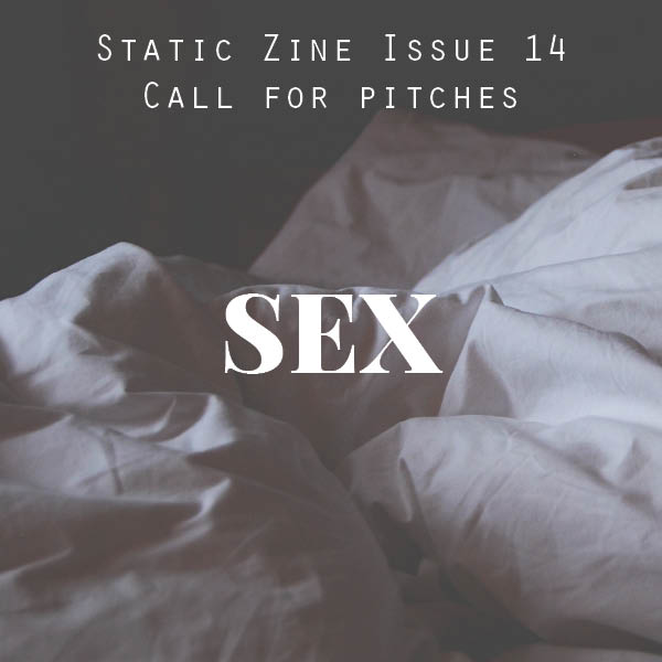 static zine issue 14 pitches