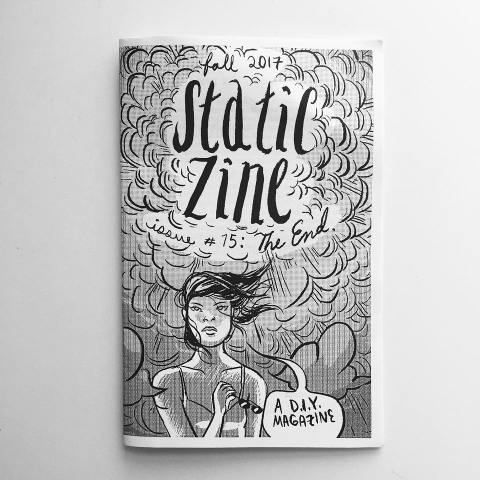static zine the end